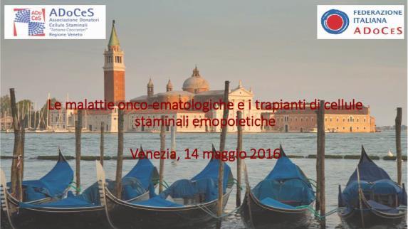 Convegno Venezia 2016